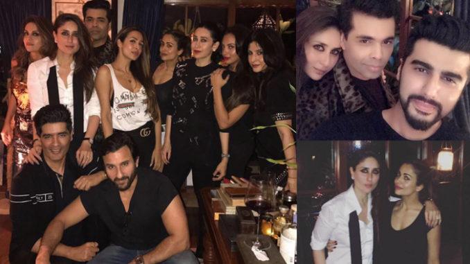 Kareena Kapoor Khan's birthday bash. Image Courtesy: Instagram
