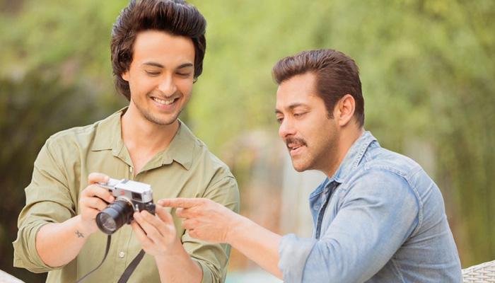 Aayush Sharma, Salman Khan