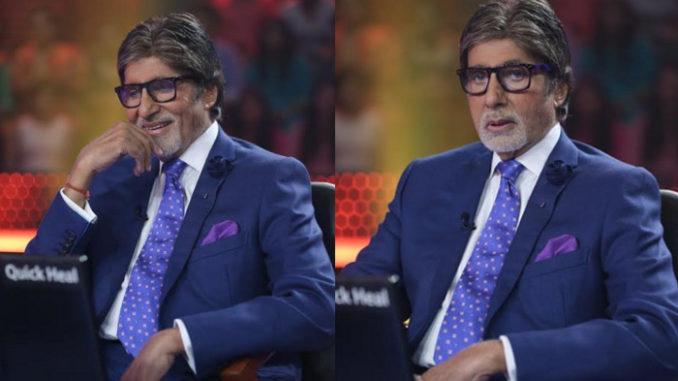 Amitabh Bachchan on KBC 9