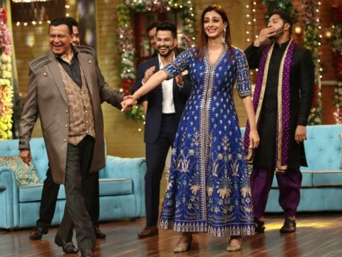 Mithun Chakraborty shakes a leg with Tabu on the song 'Julie Julie'