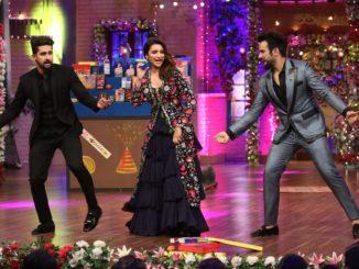Parineeti Chopra shakes a leg with Ravi Dubey and Ritvik Dhanjani on The Drama Company