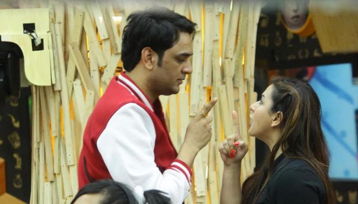 Vikas, Shilpa fight inside the Bigg Boss house