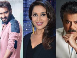 Ajay Devgn, Madhuri, Anil Kapoor