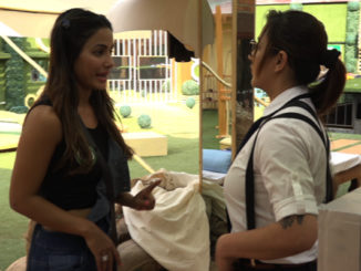 Hina, Shilpa perform the luxury budget task