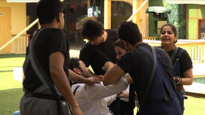 Shilpa, Vikas get into a nasty fight
