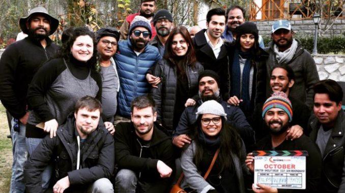 Varun Dhawan with team October