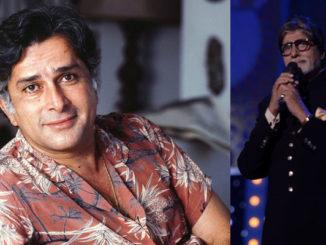 A file photo of Shashi Kapoor, Amitabh Bachchan