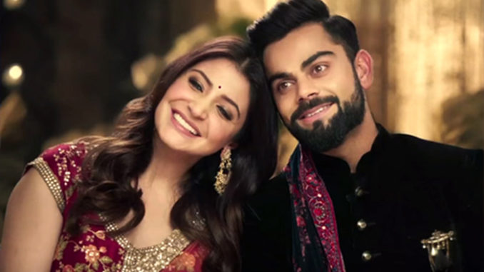 Anushka Sharma, Virat Kohli shoot an advertisement