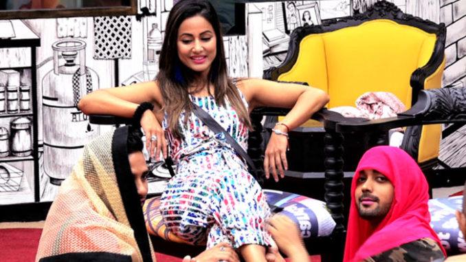 Hina with Puneesh and Luv