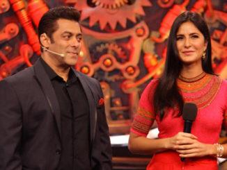 Salman Khan, Katrina Kaif on Bigg Boss 11