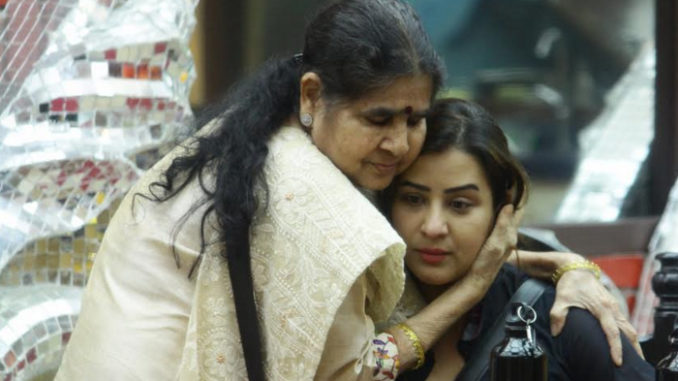 Shilpa Shinde with her mother