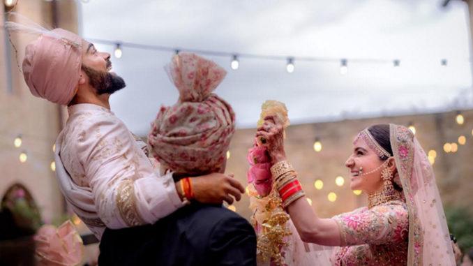 Virat Kohli, Anushka Sharma get married