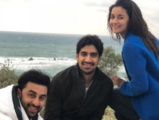 Ranbir Kapoor, Ayan Mukerji, Alia Bhatt in Israel