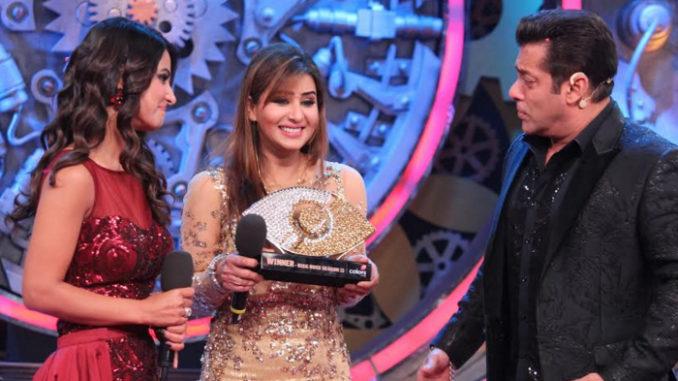 Shila Shinde wins Bigg Boss 11