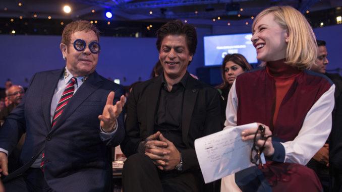 Sir Elton John, Shah Rukh Khan, Cate Blanchett