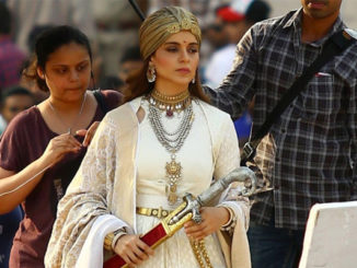 Kangana Ranaut shooting for Manikarnika