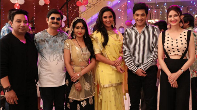Bhabhi Ji Ghar Par Hai! and High Fever teams