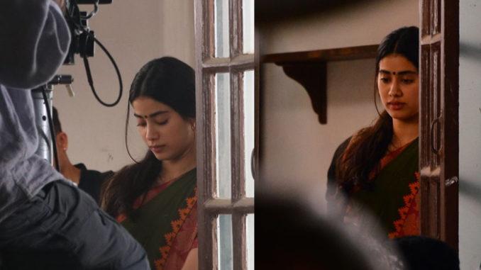 Janhvi Kapoor resumes shooting for Dhadak