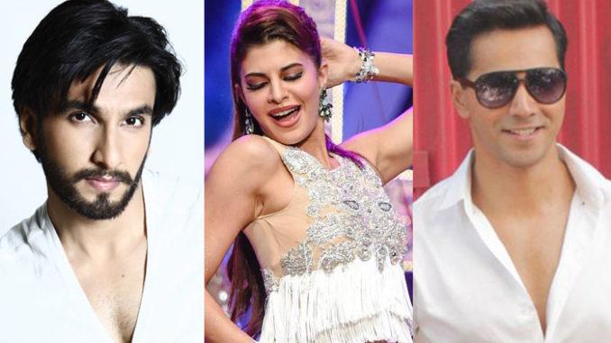 Ranveer Singh, Jacqueline Fernandez, Varun Dhawan