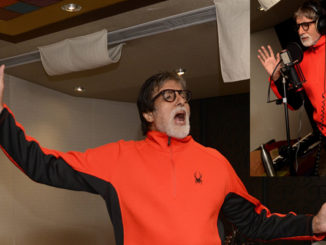 Amitabh Bachchan records a song for 102 Not Out
