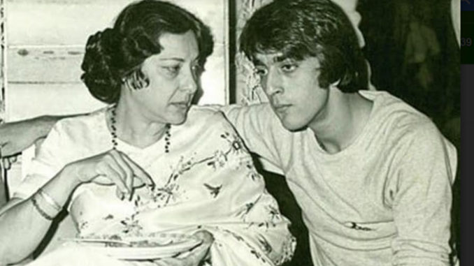 A file photo of Nargis Dutt, Sanjay Dutt