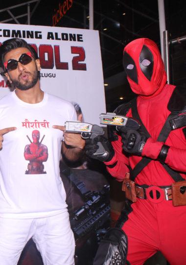 Ranveer Singh at the screening