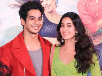 Ishaan Khatter, Janhvi Kapoor at Dhadak trailer launch