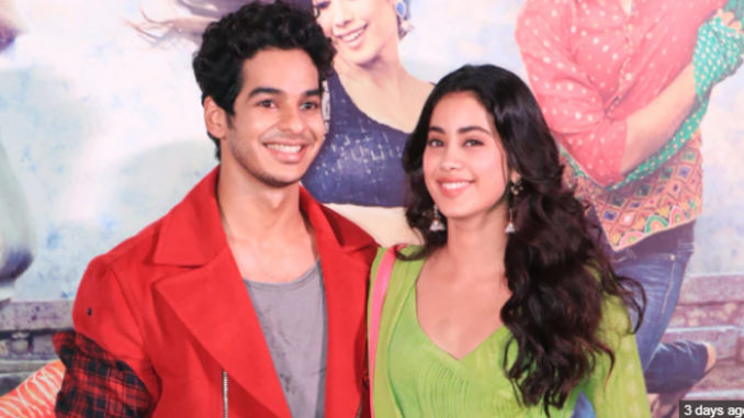 Ishaan Khatter, Janhvi Kapoor at Dhadak trailer launch