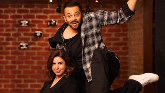 Farah Khan, Rohit Shetty